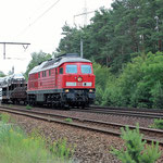 """233 441 mit der """"Ecke""""  nach Beelitz Heilstätten am 14.06.2009 – km 36,6"""