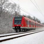 Eine Münchner S-Bahn in Fläming – 423 601 Belzig km 63,4 am 05.01.2008