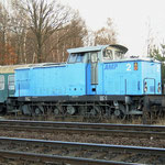 Am 27.11.2006 war AMP 2 in Belzig abgestellt