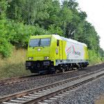 AW Probefahrt 119 008 Bad Belzig km 66,6 am 28.07.2016