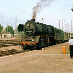 50 3708 mit Sonderzug am 27.07.1997