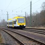 Überführung von VT 525 SWEG am 05.12.2014