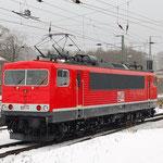 MEG 704 – Probefahrt AW von Seddin nach Dessau am 25.02.2013