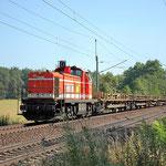 RCM 61 – eine G 1600 aus dem Münsterland im Fläming an km 62,6 am 23.07.2013