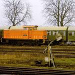 In den 80er Jahren war noch eine Rangierlok in Belzig stationiert. Zuerst von Bw Brandenburg, nachdem Brandenburg zur Rbd Berlin kam wurde die Lok von Bw Seddin gestellt. Hier 105 161