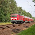 143 306 In Richtung Dessau an km 38,8 – 15.06.2011