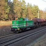 EIB 22 Überführt 95 54 5840 016-0 CZ-CD – Bad Belzig km 62,0 am 28.12.2011
