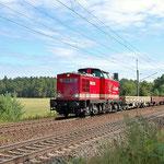 Adam 22 ex DR 202 241-6 Richtung Dessau an km 62,6 am 01.08.2013