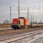 """Hvle V160.3 mit """"Hamsterüberführung"""" am 30.11.2010"""
