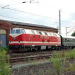 Sonderzug 119 158 nach Berlin am 04.07.2009
