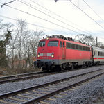 Am 09.12. 2008 kam an km 65,6 113 267 nach Leipzig vorbei.