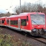 650 011 und 010 aus Süddeutschland auf  Durchreise in Bad Belzig am 09.12.2011