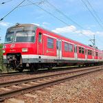 Ein seltenes Fahrzeug in Fläming – 420 338 Baitz km 58,2 am 18.07.2014