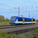 VT 01 von NBE Richtung Dessau am 02.10.2014
