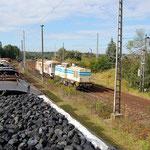 Das letzte Bild der 130 012 in Belzig. 1102 von ITB holte sie am 20.09.2007 nach Brandenburg ab.