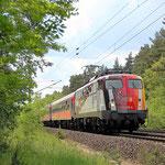 110 325 mit Sonderzug nach Berlin – Belzig km 61,2 am 19.05.2009