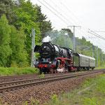 03 2155 mit Sonderzug am 23.05.2015 in Richtung Dessau