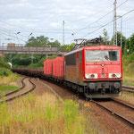 155 037 hat Bad Belzig ais Richtung Dessau erreicht am 01.08.2013