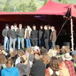 Der Schlusspunkt gestaltete eine Delegation des Jodleklub Marbach! Herzlichen Dank!