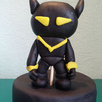 figura 3d black panter