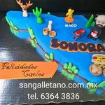 PASTEL FONDANT ESTADO DE  SONORA