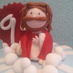 figura 3d sagrado corazon de jesus