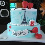 PASTEL DE FONDANT PARIS