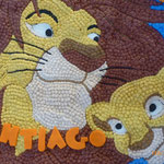 pastel cupcakes simba & mufasa  el rey leon