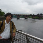 パースで有名なパース橋。ティ川にかかっています。