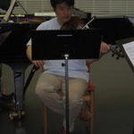 そしてヴィオラの宇野さん。 王立歌劇場管弦楽団に所属されています。