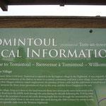 途中こんな小さな街を通りました。 「Tomintoul」発音は「Tom-an-Towel」とすると書いてありますが、なんて言うんでしょうね。 『トムァントァウェル』??素敵な街でしたよ。今度行ったら絶対泊まります。