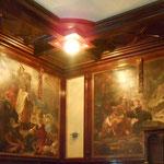 Wandmalerei im Kaulbachsaal