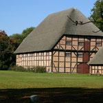 Historische Wirtschaftsgebäude auf dem Gut Wahlstorf
