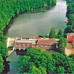 Wasserkraftwerk 2 am Rosensee in Raisdorf