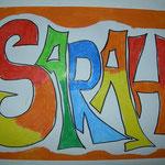 Graffiti - Schrift: 4b - Klasse