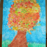 Herbstbaum - 2. Klasse