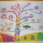 Van Gogh - Lebensbaum - 4a Klasse