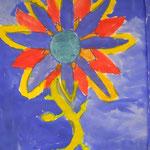 Wunderblumen blühen in der 2. Klasse