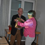Frau Rotthaus bedankt sich bei Herrn Kettl