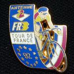 Tour de France 1992  - Télévision A2 - FR3