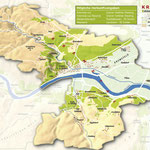 Weinanbauflächenkarte Kremstal - ÖWM/Photograph