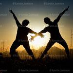 """"""" Dancing Star"""" Gerhard Egger und Karoline Bitschnau"""