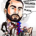 Caricaturas personalizadas online de fotografías: caricatura individual por tan solo 20€ a todo color