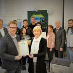 Nachhaltigkeitsmanagementklasse erreicht Auszeichnung zur Fairtrade-School