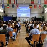 Abschlussfeier der Höheren Handelsschule 2016