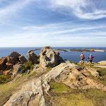 Panorama de la pointe de l'île Milliau