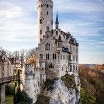 Schloss Lichtenstein (Schwäbische Alb, Deutschland)