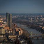 Neubau der EZB am Main