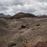 Parque Natural Los Volcanes (Lanzarote, Spanien)