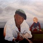 Das Duell • 2013 • Öl auf Leinwand • 180 x 180